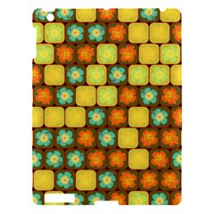 Random Hibiscus Pattern Apple Ipad 3/4 Hardshell Case by linceazul