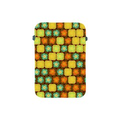 Random Hibiscus Pattern Apple Ipad Mini Protective Soft Cases by linceazul