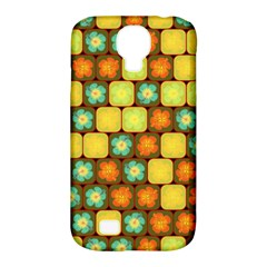 Random Hibiscus Pattern Samsung Galaxy S4 Classic Hardshell Case (pc+silicone) by linceazul