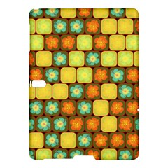 Random Hibiscus Pattern Samsung Galaxy Tab S (10 5 ) Hardshell Case  by linceazul