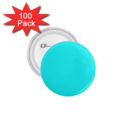 Neon Color   Brilliant Cyan 1 75  Buttons (100 Pack)  by tarastyle