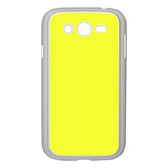 Neon Color   Brilliant Yellow Samsung Galaxy Grand Duos I9082 Case (white) by tarastyle