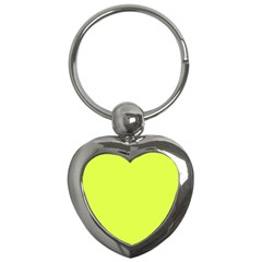 Neon Color   Light Brilliant Apple Green Key Chains (heart)  by tarastyle