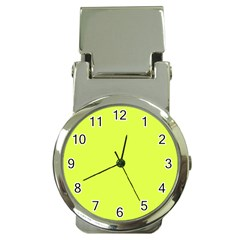 Neon Color   Light Brilliant Apple Green Money Clip Watches by tarastyle
