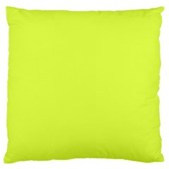 Neon Color   Light Brilliant Apple Green Large Cushion Case (two Sides) by tarastyle