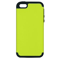 Neon Color   Light Brilliant Apple Green Apple Iphone 5 Hardshell Case (pc+silicone) by tarastyle