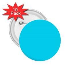 Neon Color   Light Brilliant Arctic Blue 2 25  Buttons (10 Pack)  by tarastyle