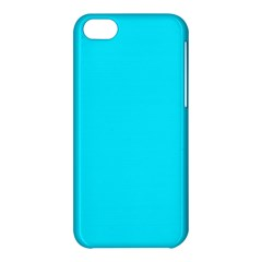Neon Color   Light Brilliant Arctic Blue Apple Iphone 5c Hardshell Case by tarastyle
