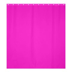 Neon Color   Light Brilliant Fuchsia Shower Curtain 66  X 72  (large)  by tarastyle