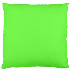 Neon Color   Light Brilliant Harlequin Large Flano Cushion Case (two Sides) by tarastyle