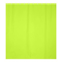 Neon Color   Light Brilliant Lime Green Shower Curtain 66  X 72  (large)  by tarastyle