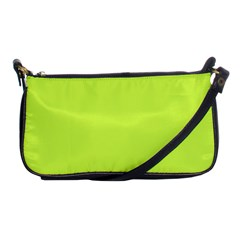 Neon Color   Light Brilliant Lime Green Shoulder Clutch Bags by tarastyle