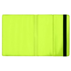 Neon Color   Light Brilliant Lime Green Apple Ipad 3/4 Flip Case by tarastyle