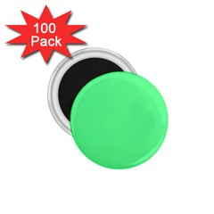 Neon Color   Light Brilliant Malachite Green 1 75  Magnets (100 Pack)  by tarastyle