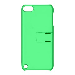 Neon Color   Light Brilliant Malachite Green Apple Ipod Touch 5 Hardshell Case With Stand by tarastyle