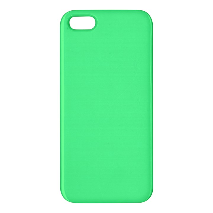 Neon Color - Light Brilliant Malachite Green Apple iPhone 5 Premium Hardshell Case