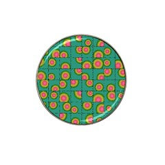 Tiled Circular Gradients Hat Clip Ball Marker (4 Pack) by linceazul