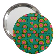 Tiled Circular Gradients 3  Handbag Mirrors by linceazul