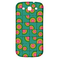 Tiled Circular Gradients Samsung Galaxy S3 S Iii Classic Hardshell Back Case by linceazul