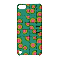 Tiled Circular Gradients Apple Ipod Touch 5 Hardshell Case With Stand