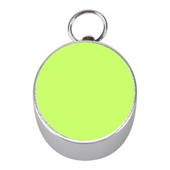 Neon Color   Light Brilliant Spring Bud Mini Silver Compasses by tarastyle