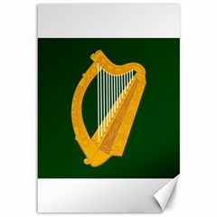 Flag Of Leinster Canvas 12  X 18