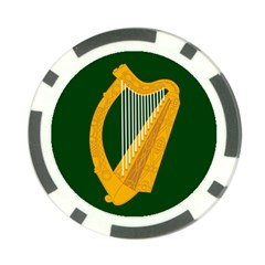 Flag Of Leinster Poker Chip Card Guard by abbeyz71