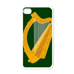 Flag Of Leinster Apple Iphone 4 Case (white) by abbeyz71