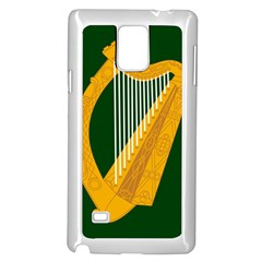 Flag Of Leinster Samsung Galaxy Note 4 Case (white) by abbeyz71