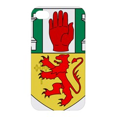County Antrim Coat Of Arms Apple Iphone 4/4s Premium Hardshell Case by abbeyz71
