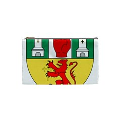 County Antrim Coat Of Arms Cosmetic Bag (small)  by abbeyz71
