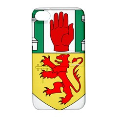 County Antrim Coat Of Arms Apple Iphone 4/4s Hardshell Case With Stand by abbeyz71