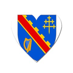 County Armagh Coat Of Arms Heart Magnet by abbeyz71