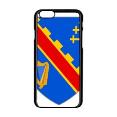 County Armagh Coat Of Arms Apple Iphone 6/6s Black Enamel Case by abbeyz71