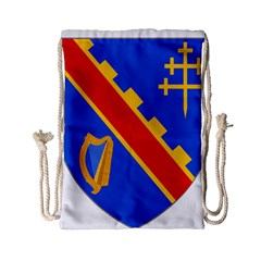 County Armagh Coat Of Arms Drawstring Bag (small) by abbeyz71