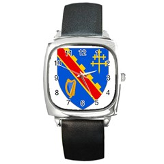 County Armagh Coat Of Arms Square Metal Watch by abbeyz71