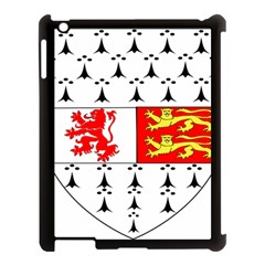 County Carlow Coat Of Arms Apple Ipad 3/4 Case (black) by abbeyz71