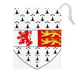 County Carlow Coat Of Arms Drawstring Pouches (xxl) by abbeyz71