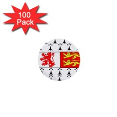 County Carlow Coat Of Arms 1  Mini Buttons (100 Pack)  by abbeyz71