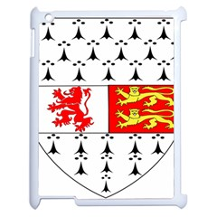 County Carlow Coat Of Arms Apple Ipad 2 Case (white) by abbeyz71