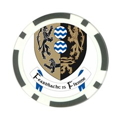 Cavan County Council Crest Poker Chip Card Guard (10 Pack) by abbeyz71