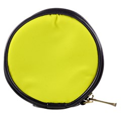 Neon Color   Light Brilliant Yellow Mini Makeup Bags by tarastyle