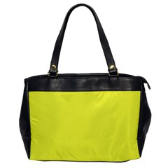 Neon Color   Light Brilliant Yellow Office Handbags by tarastyle