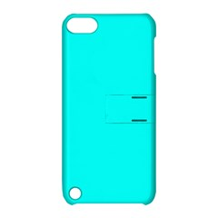 Neon Color   Luminous Vivid Cyan Apple Ipod Touch 5 Hardshell Case With Stand by tarastyle
