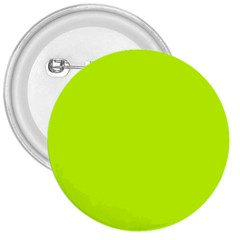 Neon Color   Luminous Vivid Lime Green 3  Buttons by tarastyle