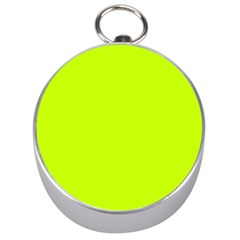 Neon Color   Luminous Vivid Lime Green Silver Compasses by tarastyle