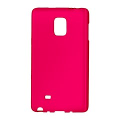 Neon Color   Luminous Vivid Raspberry Galaxy Note Edge by tarastyle