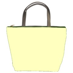 Neon Color   Pale Lime Green Bucket Bags