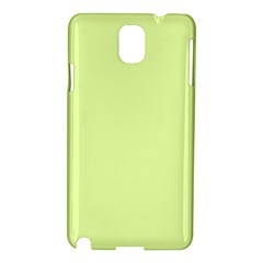 Neon Color   Pale Lime Green Samsung Galaxy Note 3 N9005 Hardshell Case by tarastyle