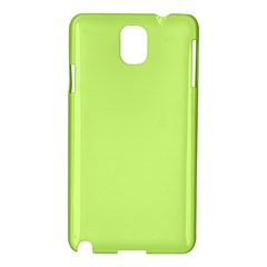 Neon Color   Very Light Spring Bud Samsung Galaxy Note 3 N9005 Hardshell Case by tarastyle